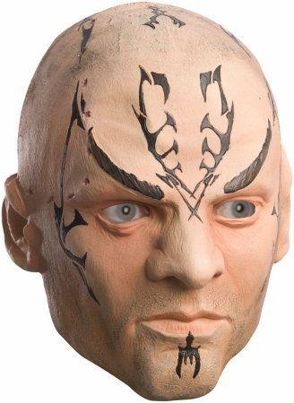 Rubies Costume Co - Star Trek Movie 2009 Nero Mask Adult - One-Size - Tan @ niftywarehouse.com
