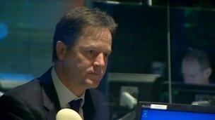 Nick Clegg warning to PM over EU referendum