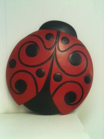 Ladybug Stepping Stone - We have one on our deck - Love it !