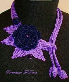 【转载】针织饰品