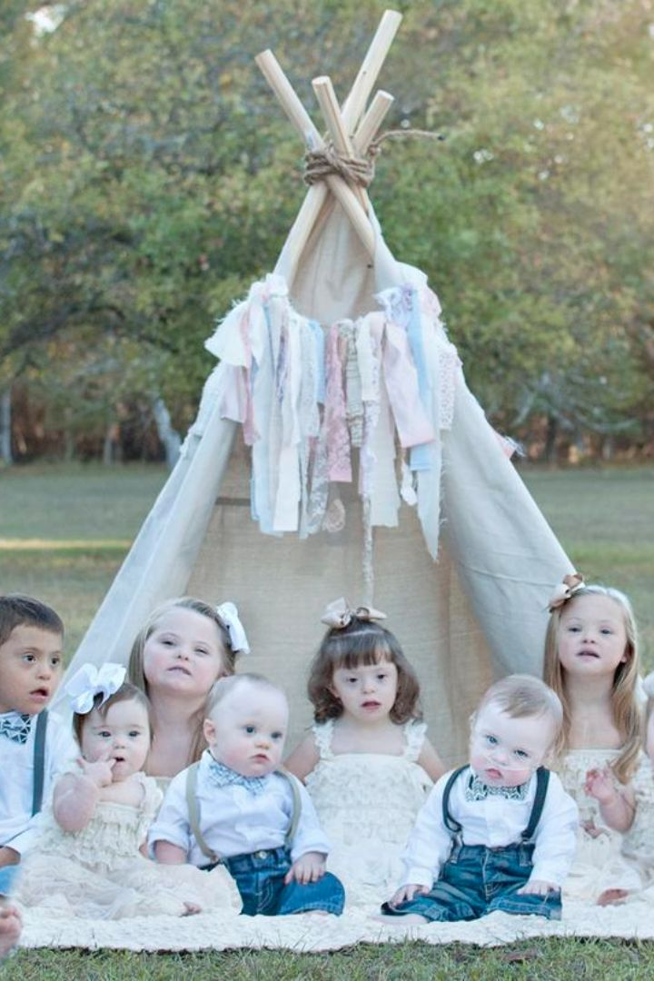 The Heartbreaking Reason 1 Photographer Took Pictures of These Kids With Down Syndrome
