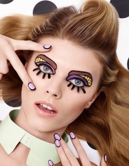 Make up pop art per Carnevale