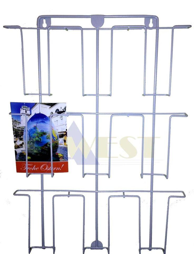 Kartenhalter, Postkartenhalter (Wand) 9Karten