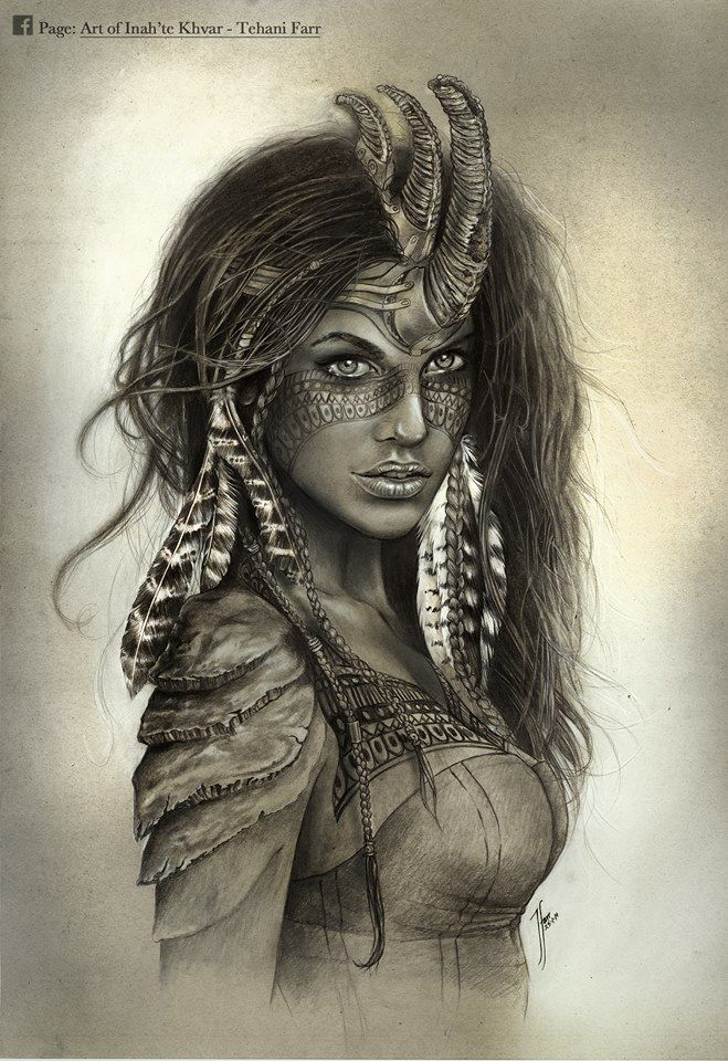 ART of Inah'te Khvar - Tehani Farr