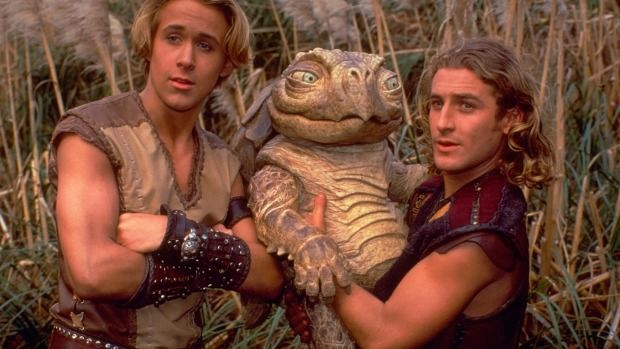 Ryan Gosling as he appeared in 'Young Hercules' with Dean O'Gorman
