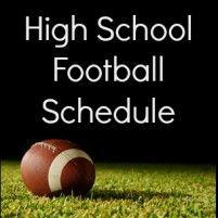 2013 Catawba Valley High School Football Schedule