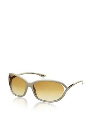 Tom Ford Women's Jennifer Sunglasses, Cream