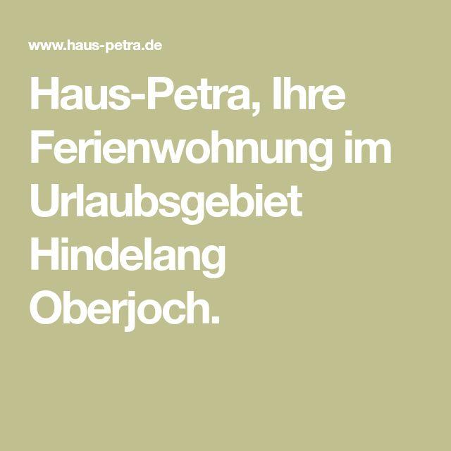 Haus-Petra, Ihre Ferienwohnung im Urlaubsgebiet Hindelang Oberjoch.