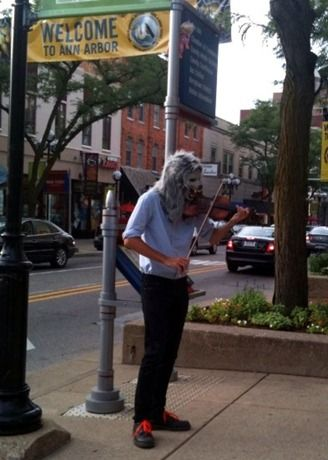 Violin Monster in Ann Arbor