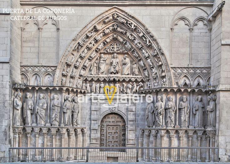 Puerta de la Coronería, Catedral de Burgos
