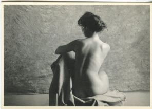 W & G Postcard, Nu Assis, Photograph by Christian Coigny