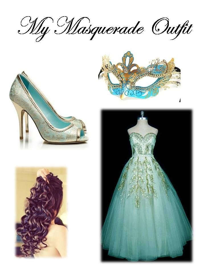 My Masquerade Outfit for the Ball