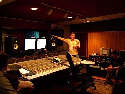 Perfil: Tomar cursos de audio y de estaciones de grabación.