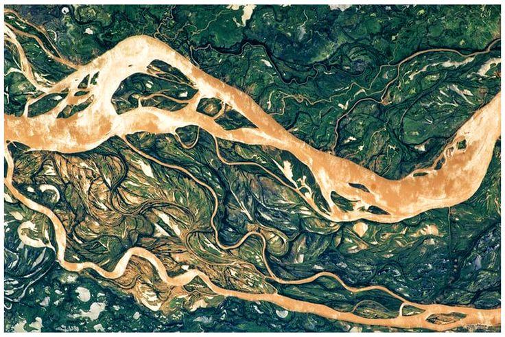 Wallpaper Braided River 2016