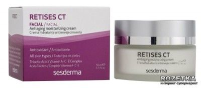 Увлажняющий крем против морщин Sesderma Retises для всех типов кожи 50 мл (8470002266476)