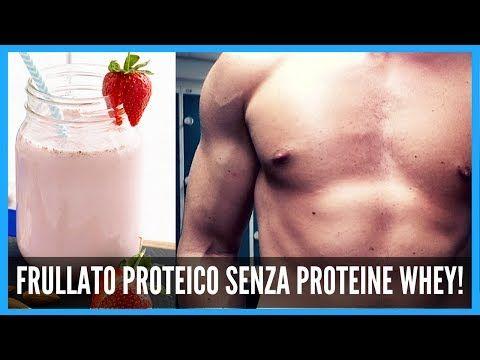IL MIGLIOR FRULLATO PER LA MASSA SENZA PROTEINE IN POLVERE! | MASS GAINER/PROTEIN SHAKE ESTIVO - YouTube