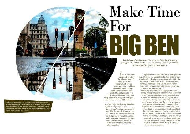 Some of my magazine layout templates _big ben