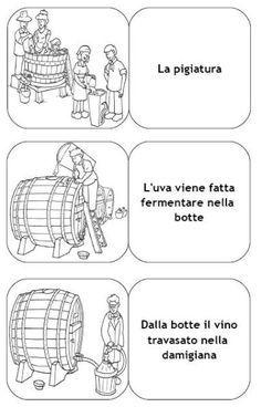 Risultati immagini per dall'uva al vino schede didattiche scuola primaria