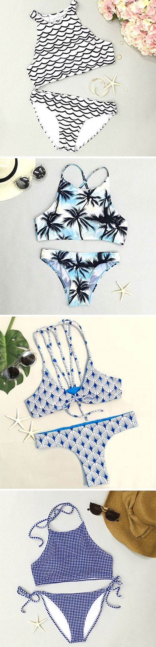 Ready for summer? Everyday new fashion. Go and find more new arrivals for this hot summer. A big world is waiting for you.Indulge in the cool vibe deeply with the stylish bikini. Check out amazing pieces that suit you at Cupshe.com !