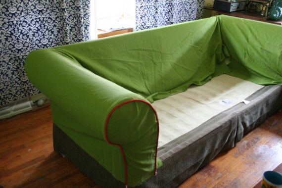 How To Sew A Slipcover Part 3 Diy Home Decor Tutorial