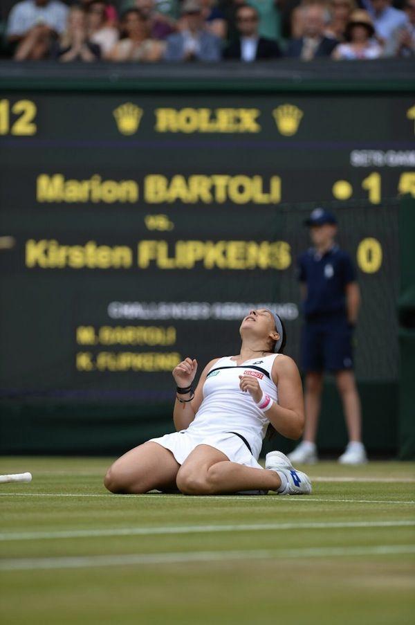 Marion Bartoli - Wimbledon 2013