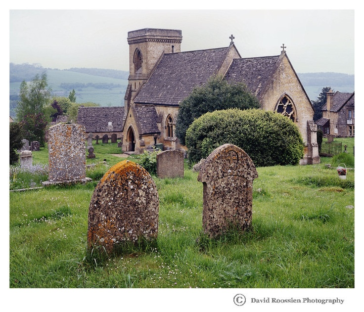 Church in Snowshill, Cotswolds, England