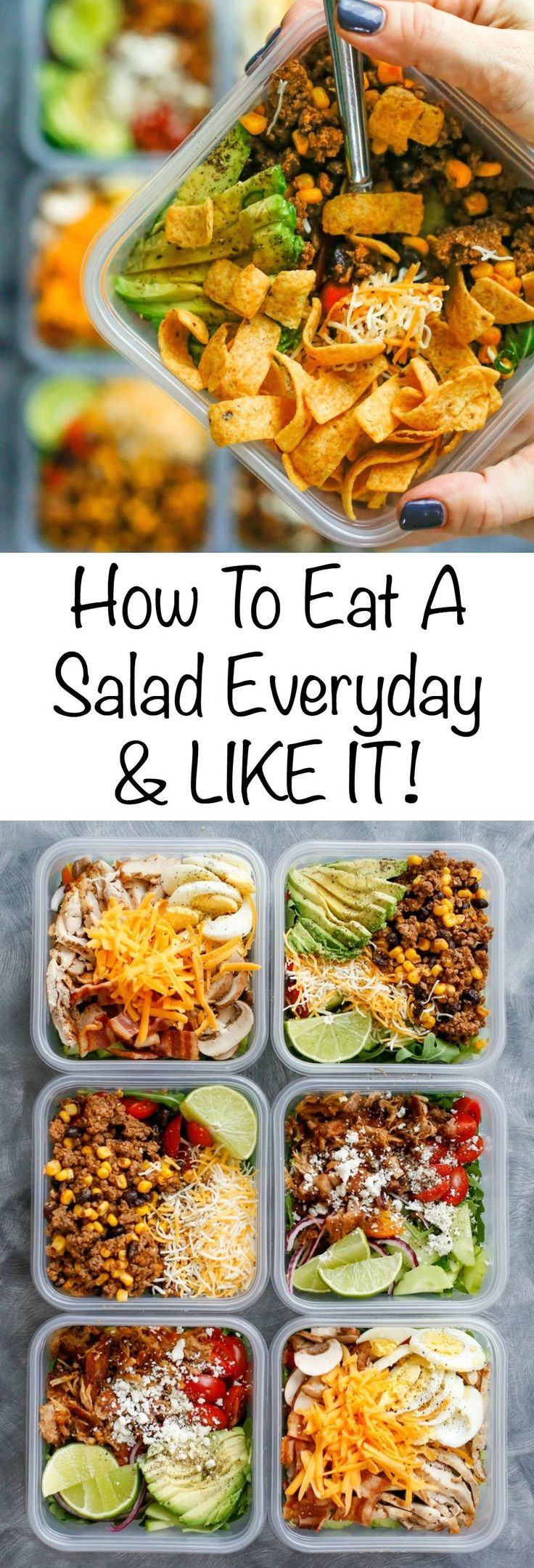 How To Eat Salad Everyday & LIKE IT! get the recipes here!
