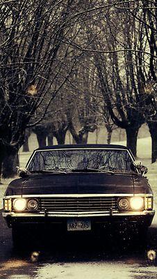 Phone background supernatural nice ride pinterest - Supernatural phone background ...