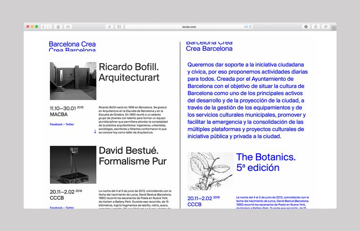 Development of new communication of Barcelona, focused on the creative talent of the city.