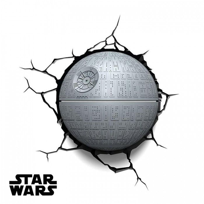 Star Wars Death Star 3D Light - Kids Death Star 3D Deco Light