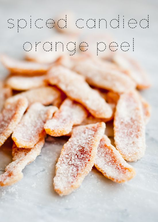 Spiced Candied Orange Peel