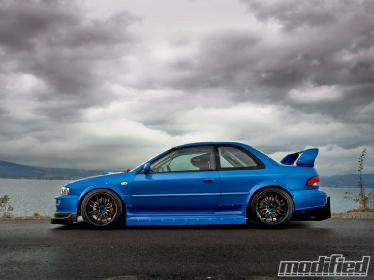 Awesome 1998 Subaru Impreza 2.5RS Coupe via Modified.com