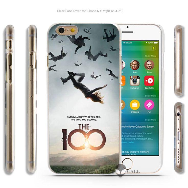 ТВ-Шоу 100 CW Алессандро juliani Жесткий Прозрачный Чехол Coque Shell для iPhone 4 4s 5 5s 5c 6 6 Плюс