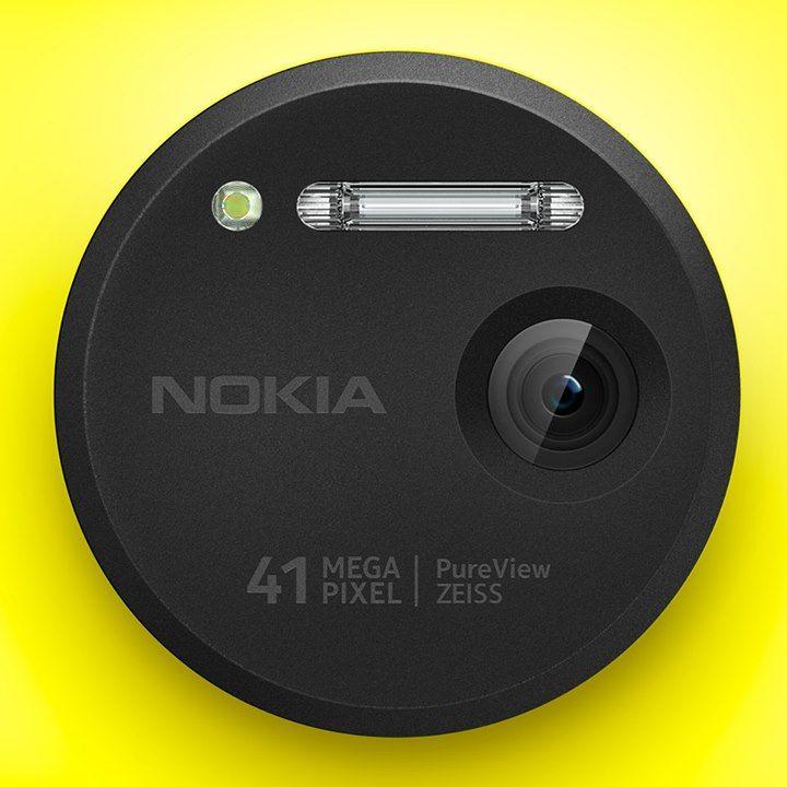 The camera on the Nokia Lumia 1020 has a 41-megapixel sensor!