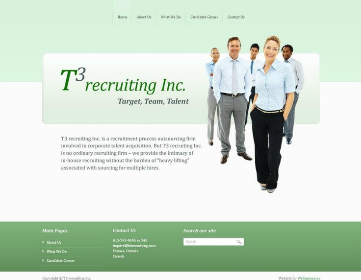 See the full website at www.tttrecruiting.com