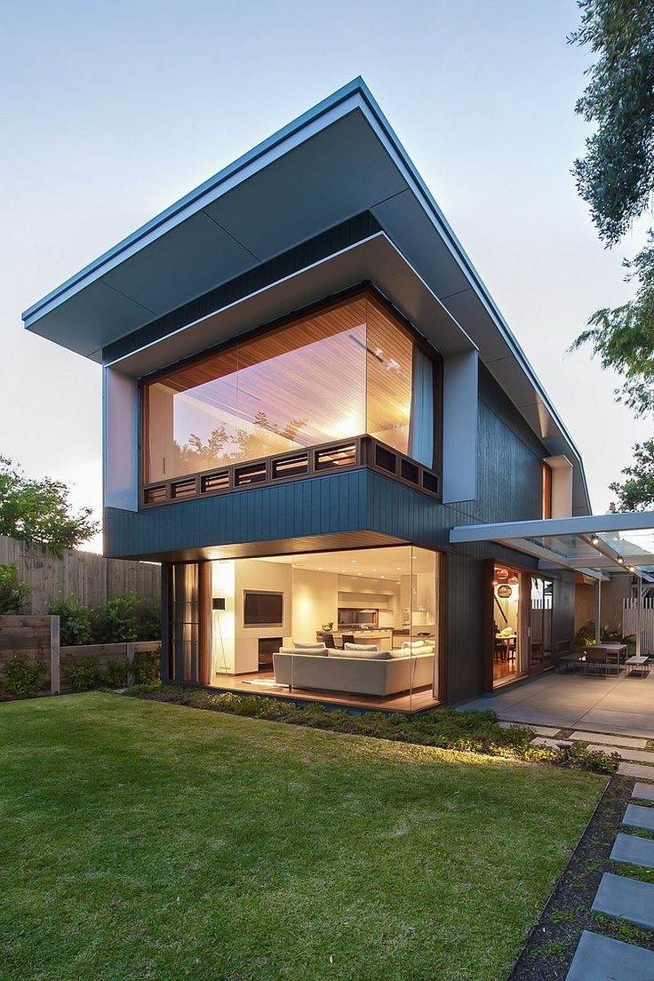 18 Modern Glass House Exterior Designs: Architecture:Amazing Modern Home Design With Glass Roofed