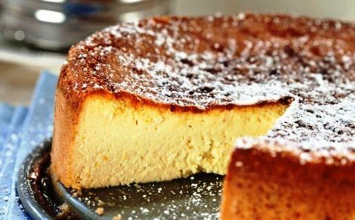 Torta di ricotta  (Ricotta cheese Cake)