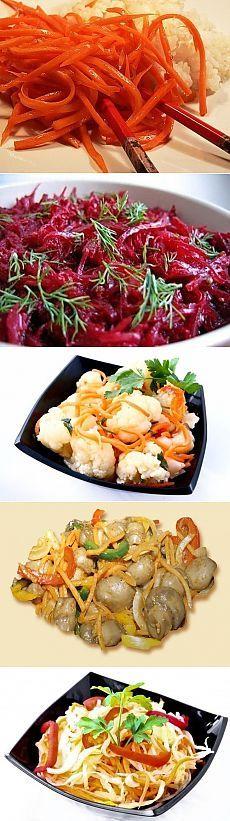 Салаты по-корейски / Райская пища