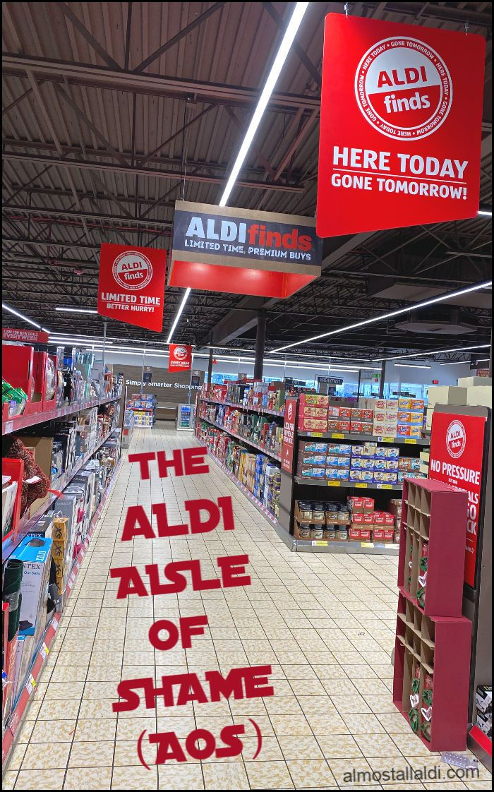 What Is The Aldi Aisle Of Shame Aos Answers To Your Frequently Asked Aldi Questions In 2020 Aldi Aldi Shopping Shame