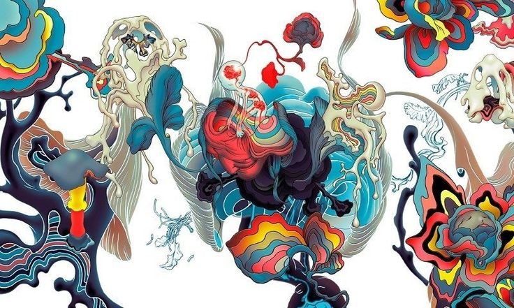 James Jean, ilustrador.-Lotus war.
