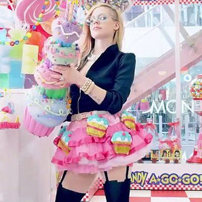 """Pin for Later: All the Things You See in Avril Lavigne's """"Hello Kitty"""" Video"""