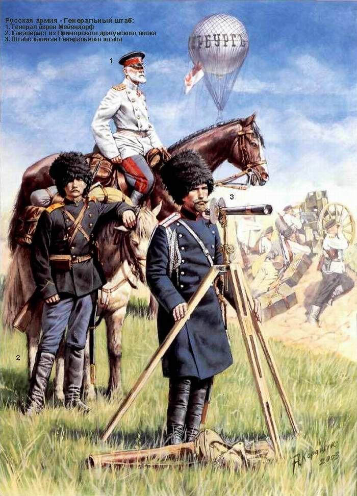 Русская армия в русско-японской войне - Генеральный штаб
