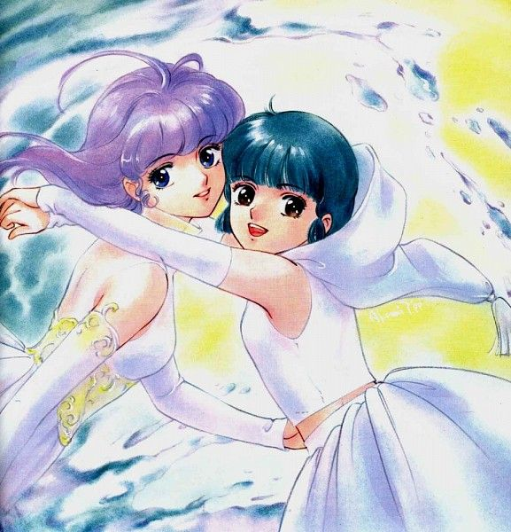 "Creamy Mami Yu Morisawa from ""Creamy Mami The Magic Angel"" series by manga artist Akemi Takada."