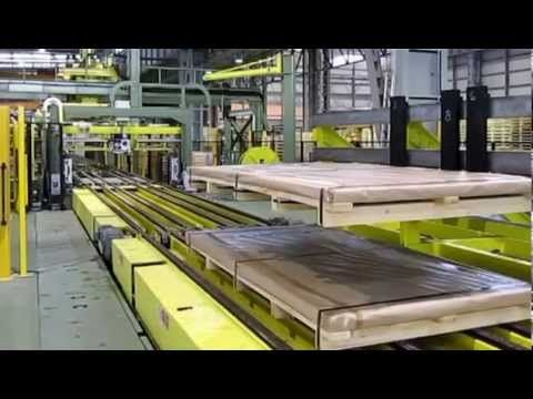 Metal Sheet/profile Packaging machine, strapping machine