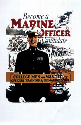 192 best marine corps recruiting posters images on pinterest - Becoming a marine officer ...