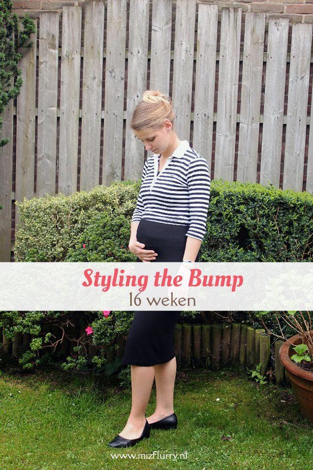 Vijfde post uit de serie Styling the Bump, waarin ik mijn zwangerschapsoutfits toon van toen ik zwanger was van Kate. -16 weken zwanger.