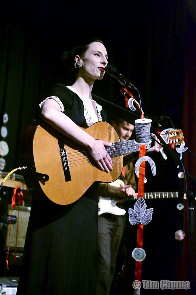 The Orbweavers at the Caravan Music Club 15/03/13