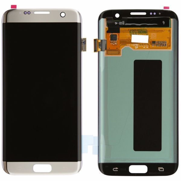 Samsung Galaxy S7 Edge Display Assembly Lcd And Touch Screen Silver Titanium Galaxy S7 Samsung Galaxy S7 Edge