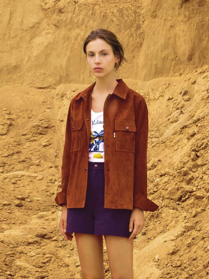 warm winter coats for women Maison Kitsun   Spring 2016 Ready to Wear Collection Photos   Vogue