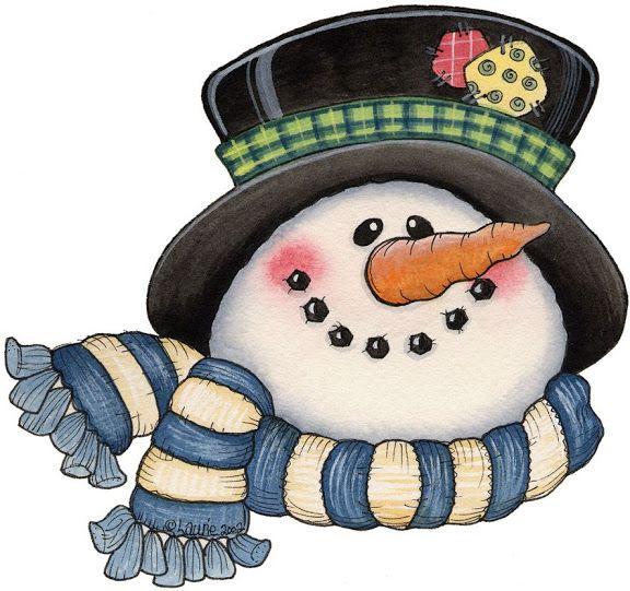 google clip art snowman - photo #24